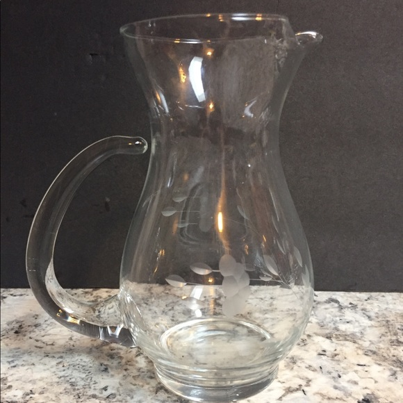 Princess House Other - Princess house heritage pattern small pitcher